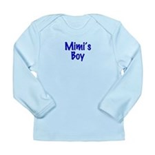 Mimi's Boy Long Sleeve Infant T-Shirt