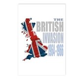 British Invasion Postcards (Package of 8)