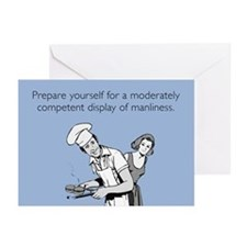 Display of Manliness Greeting Cards (Pk of 10)
