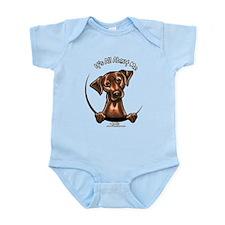 Chocolate Lab IAAM Infant Bodysuit