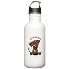 Chocolate Lab IAAM Water Bottle
