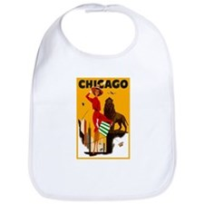 Vintage Chicago Travel Bib