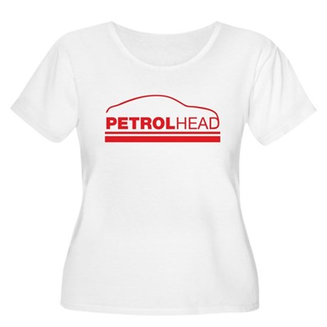 petrol head Women's Plus Size Scoop Neck T-Shirt