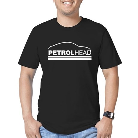 petrol head Men's Fitted T-Shirt (dark)