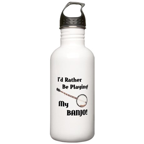 Playing My Banjo Stainless Water Bottle 1.0L