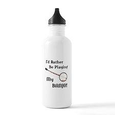 Playing My Banjo Water Bottle