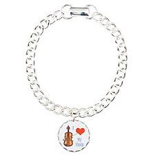 I Love My Viola Bracelet
