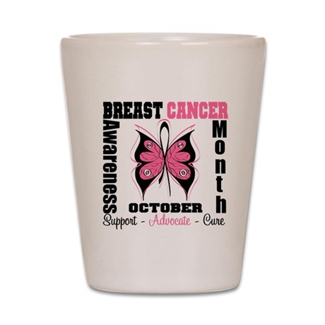 Breast Cancer Month Shot Glass