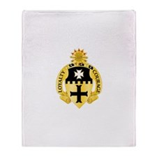 5th Cavalry Regiment Throw Blanket