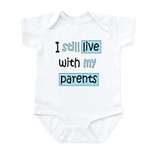 I Still Live Infant Bodysuit