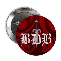 "2.25"" Button Red BDD Logo"