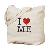 I LOVE ME By RIFFRAFFTEES.COM Tote Bag