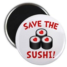 Save The Sushi Magnet