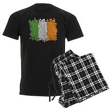 Shamrocks Irish Flag pajamas