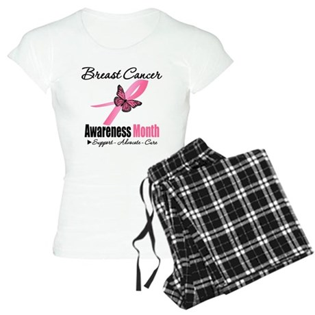Breast Cancer Month Support Women's Light Pajamas
