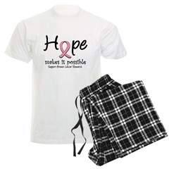 Hope Breast Cancer Men's Light Pajamas