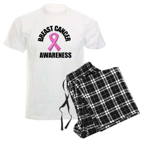 Breast Cancer Awareness Men's Light Pajamas