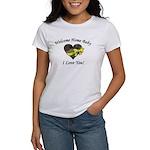 Welcome Home Camo Heart Women's T-Shirt