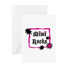 Mimi Rocks Greeting Card