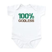 100% Godless Onesie