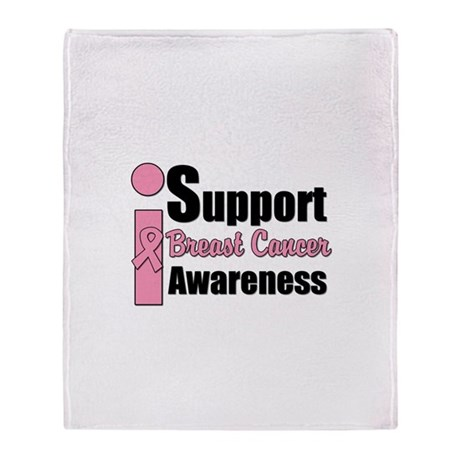 I Support BCA Throw Blanket