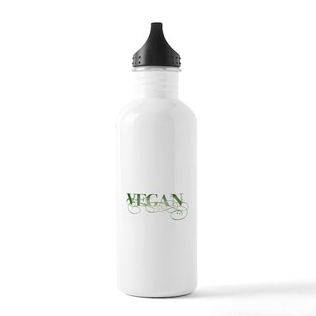 Vegan Green Organic Stainless Water Bottle 1.0L