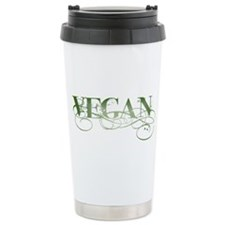 Vegan Green Organic Ceramic Travel Mug