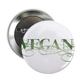 "Vegan Green Organic 2.25"" Button"