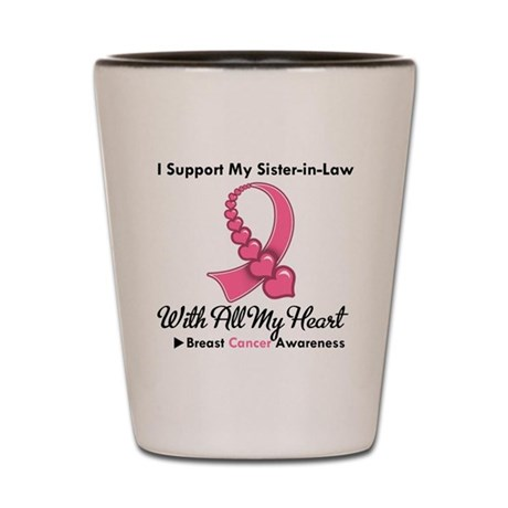 BreastCancerSister-in-Law Shot Glass