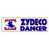 Zydeco Joe Bumper Bumper Sticker