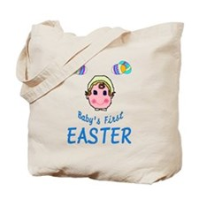 Baby's First Easter - Boy Tote Bag