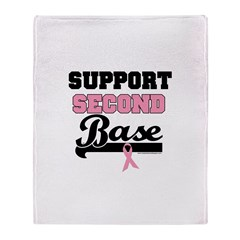 Support 2nd Base (v1) Throw Blanket