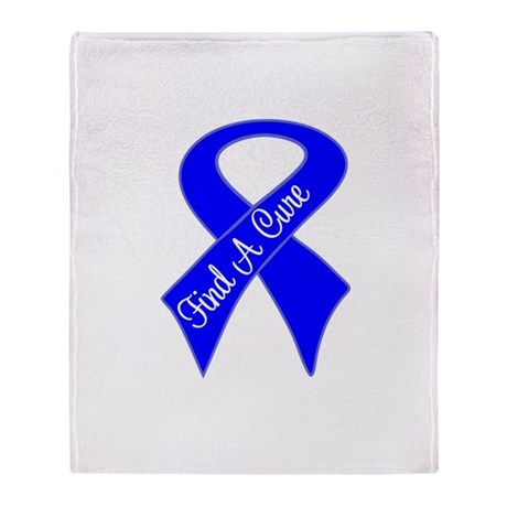 Find a Cure Colon Cancer Stadium Blanket