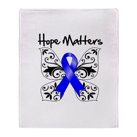 Hope Matters Colon Cancer Stadium Blanket