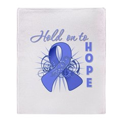 Esophageal Cancer Throw Blanket