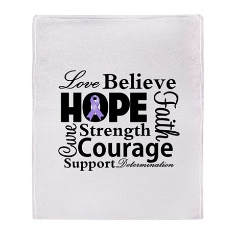 General Cancer Hope Stadium Blanket