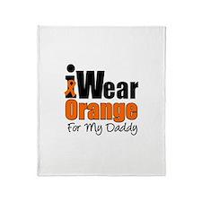 Leukemia Daddy Throw Blanket