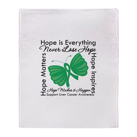 Hope is Everything Liver Canc Stadium Blanket