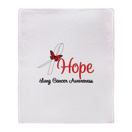 Hope Lung Cancer Stadium Blanket