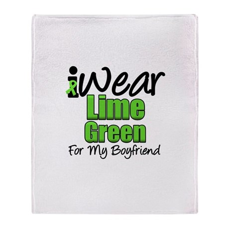 Lymphoma Boyfriend Throw Blanket