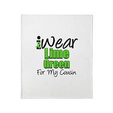 Lymphoma Cousin Throw Blanket