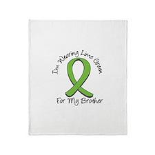 Lymphoma Brother Throw Blanket