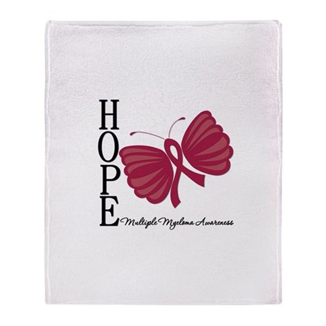 Hope Butterfly - Myeloma Stadium Blanket