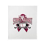 Take a Strike - Myeloma Throw Blanket