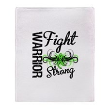 WarriorNonHodgkinsLymphoma Throw Blanket
