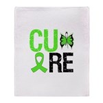 CureNon-HodgkinsLymphoma Throw Blanket