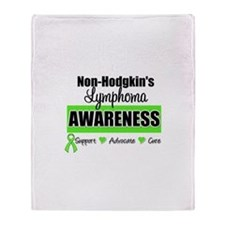 Non-Hodgkin's Awareness Throw Blanket