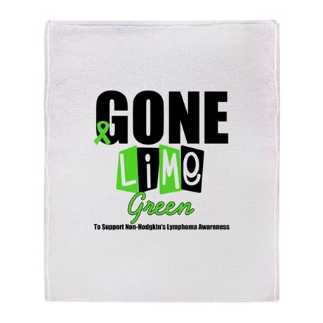 Gone Lime Green To Support No Throw Blanket
