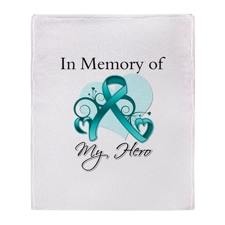 In Memory Hero Ovarian Cancer Stadium Blanket