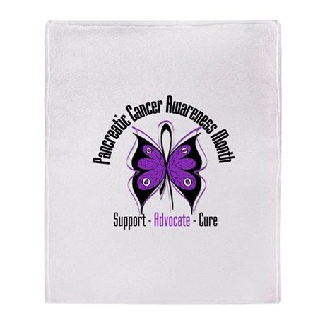 Pancreatic Cancer Month Stadium Blanket